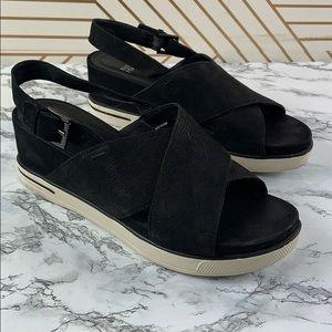 Eileen fisher good cross cross platform sandal